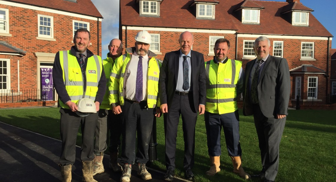 The Rt Hon Damian Green MP visited one of Kent's best builders last week in the market town of Tenterden.