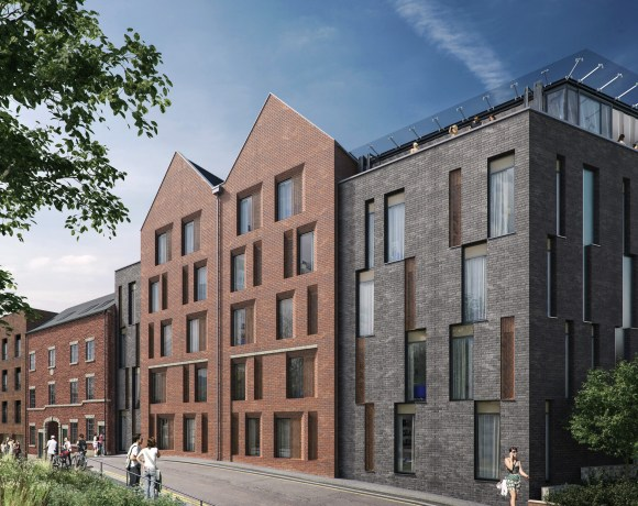 Steel City Student Accommodation Tops Out