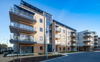 The £35m Castle View Windsor urban retirement development has been completed on time and to budget following a two year build and fulfilling a dream by entrepreneur and developer, Robin Hughes, who wanted to create a retirement home 'good enough for Mum', 85 year old Betty Hughes.