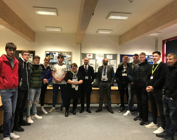 Level 3 Construction students at Cambridge Regional College (CRC) have been offered an opportunity to gain valuable work experience with a major local employer.