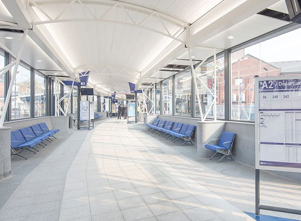 Rotherham Interchange Transport Hub Transformed