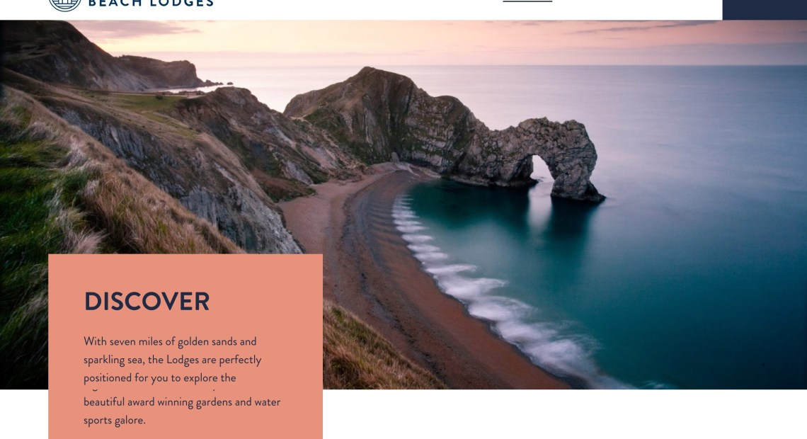 Crowd Delivers New Website for Bournemouth Beach Lodges