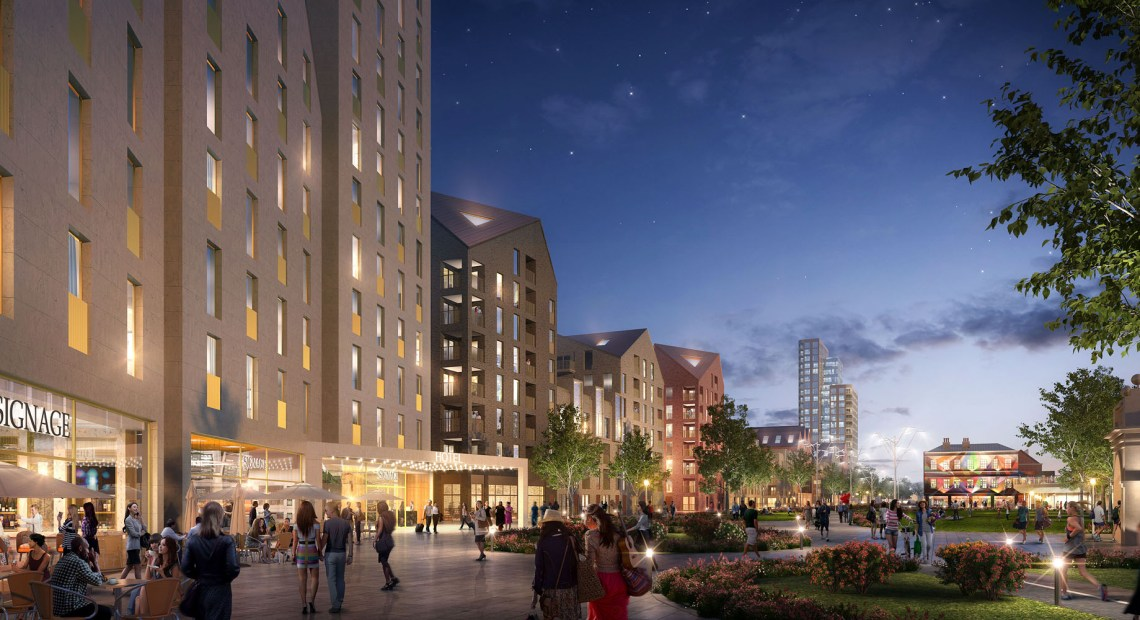 """NOTTINGHAM is on the cusp of creating """"possibly the biggest regeneration scheme in the UK"""" as outline plans to transform the high-profile 40-acre former Boots Island site"""