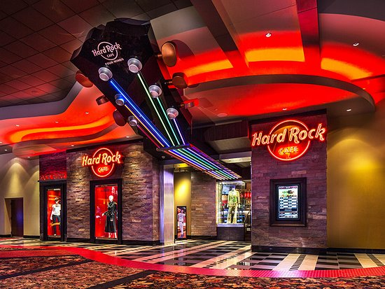 Designing for Hard Rock means adding the music inspiration through cafe's to hotels and casinos.