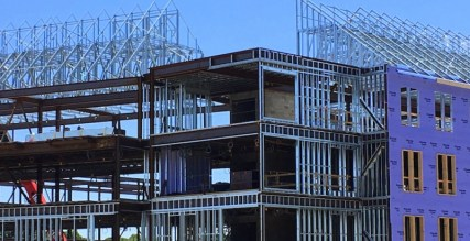 New England Tech construction residence halls