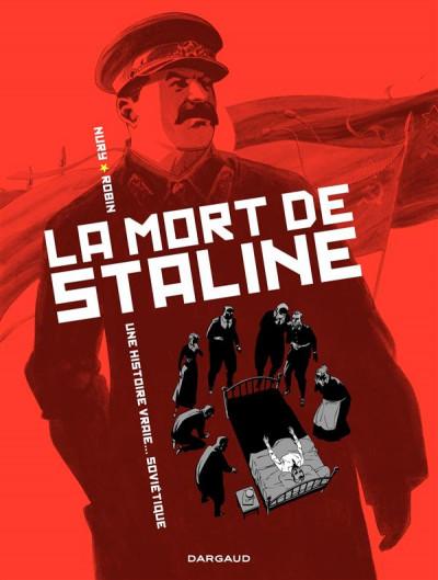 Couverture la mort de Staline tome 1 - agonie