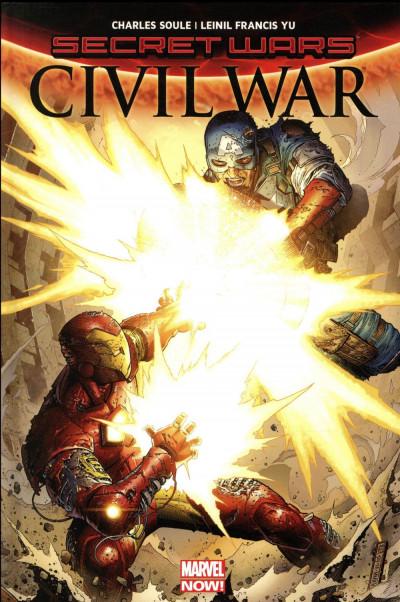 Couverture Secret wars - Civil war