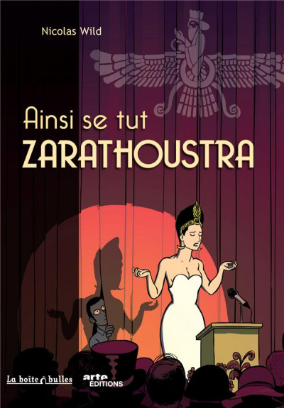 Couverture ainsi se tut Zarathoustra
