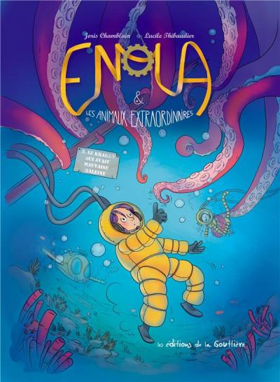 """Résultat de recherche d'images pour """"enola et les animaux extraordinaires tome 3"""""""
