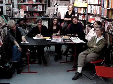 Le jury Artémisia 2008 au complet ou presque. Photo (c) François Boudet
