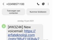 New voicemail