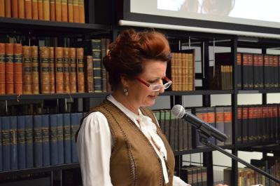 Susanne Kablitz liest aus ihrem Roman