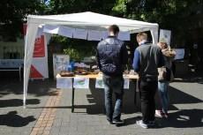 Appetit auf Wählen in der Fußgängerzone