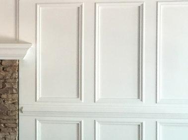 BDM-Residential-Remodeling-Atlanta-GA-Built-in Bookcase & Wainscoting Livingroom