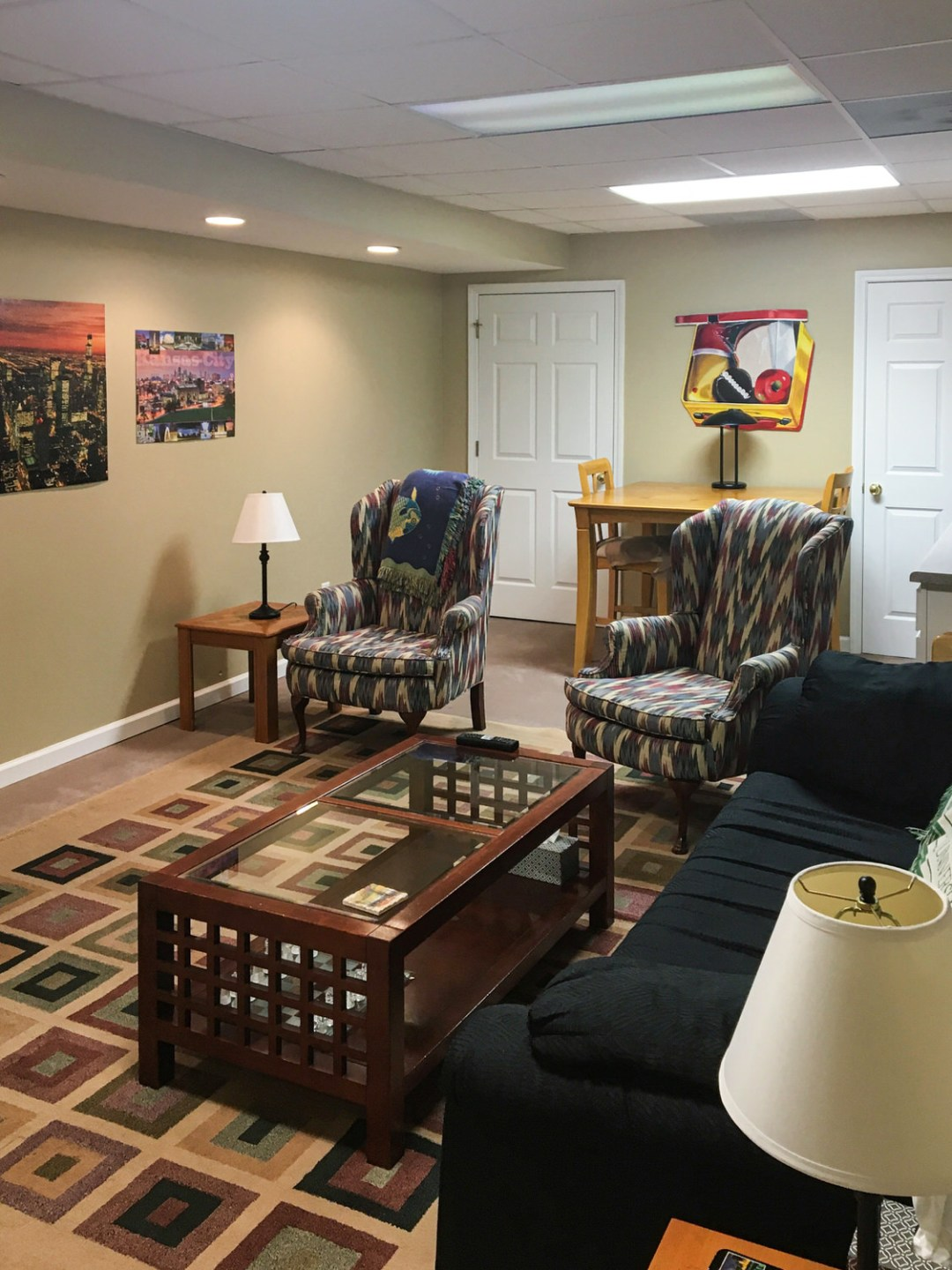 Cozy Finished Basement
