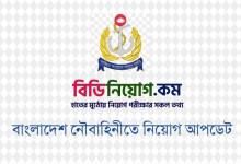 Photo of Bangladesh Navy Written Exam Result 2020
