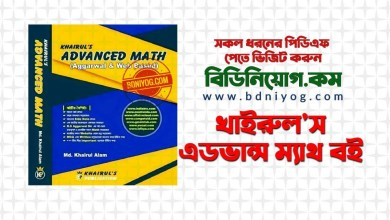 Khairuls Advanced Math Full Book PDF