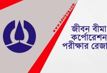 Jiban Bima Corporation Exam Result