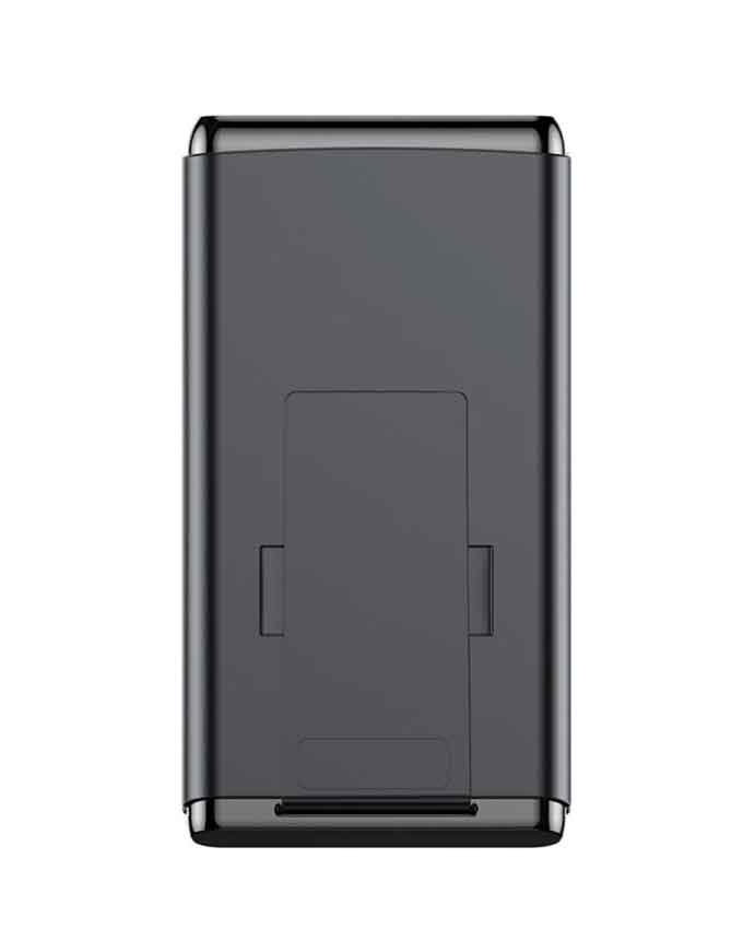 1566372659 Baseus BS-10 Quick Charge Wireless Powerbank Dual Coil Design And Digital Display