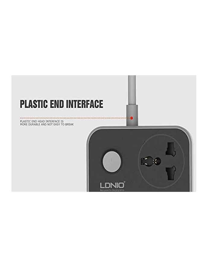 31cPsAUhPmL. AC LDNIO SC3604 3.4A 2500W 6 USB Ports Power Strip - Grey