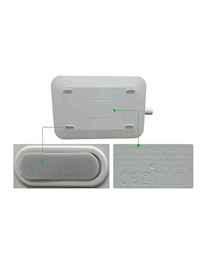 31i 1VLhYUL. AC LDNIO SC3604 3.4A 2500W 6 USB Ports Power Strip - Grey