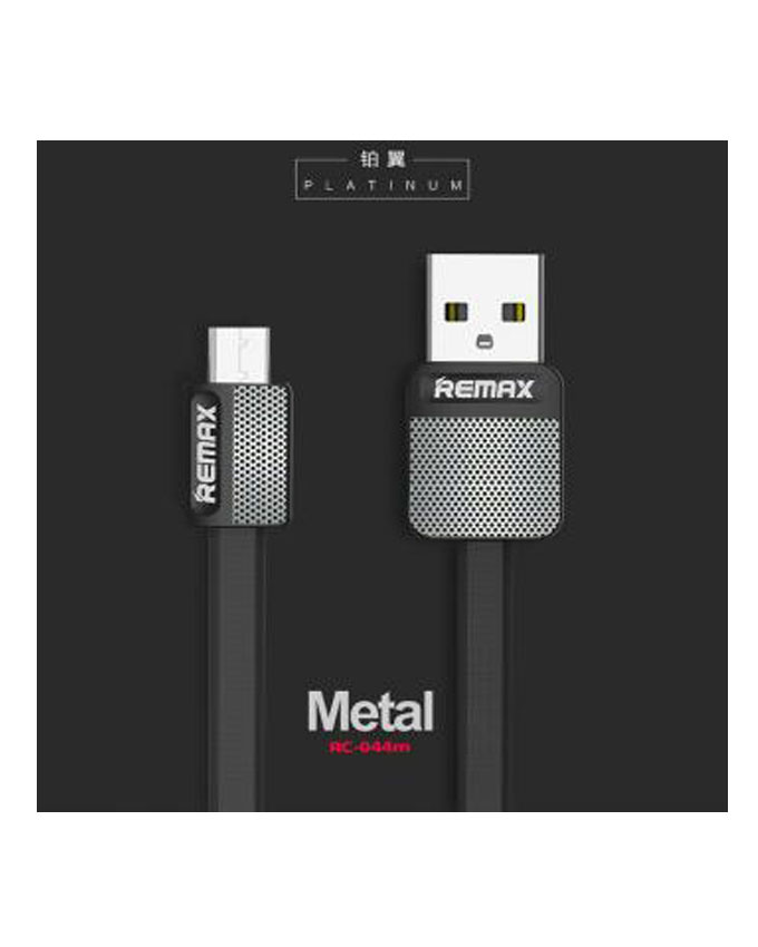 Remax Platinum Data Cable RC 044a Black 4 1 Remax Type-C Cable RC-044a Platinum Series Fast Cable