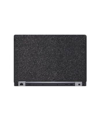 Laptop Back Cover Black Glitter