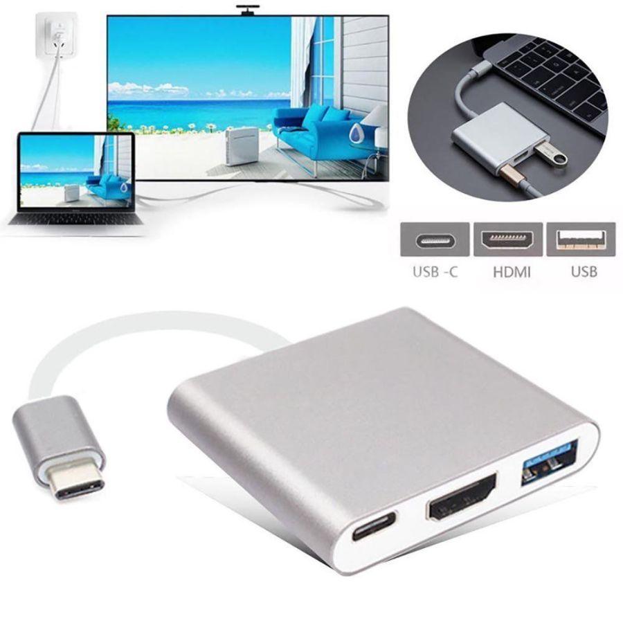 Type C 3.1 To OTGHDMIUSB3.0 2 Type C to HDMI OTG USB 3.0