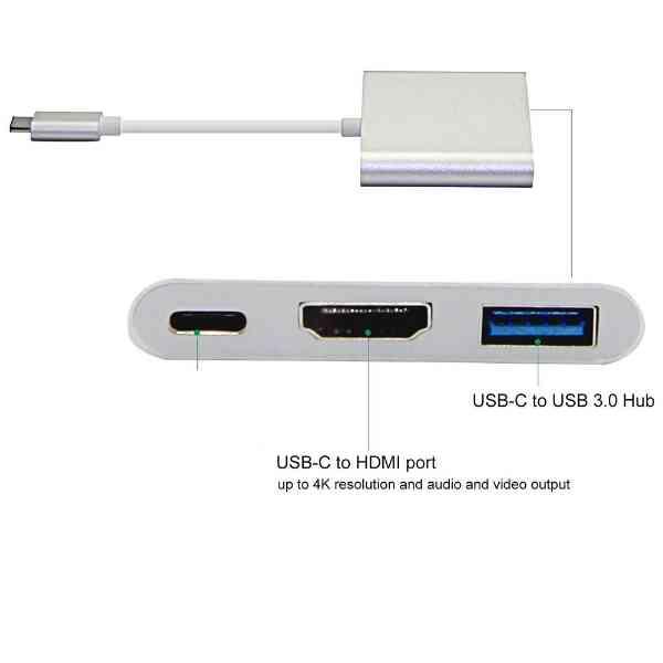 Type C to HDMI OTG USB3.0