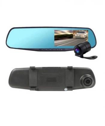 Car Dvr Mirror Dual Camera Front & Back 1080p