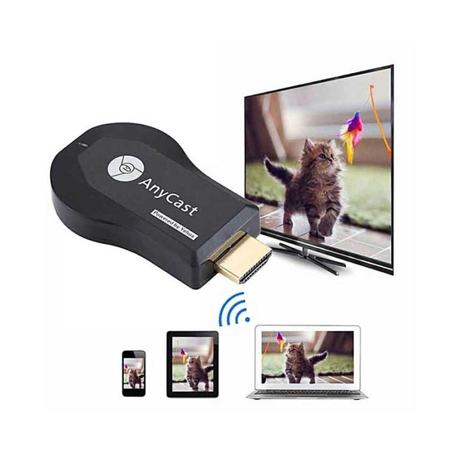 Anycast M9 Plus Black 1 bDonix 3 Anycast M9 Plus 1080P Wireless HDMI TV Stick Wifi Display Dongle Receiver