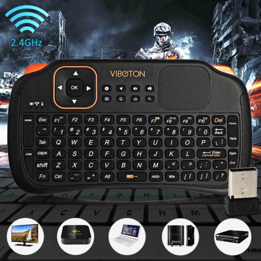 bDonix Viboton Touch Pad Wireless Keyboard Mouse S1 3 Viboton Touch Pad Mini Wireless Keyboard Mouse S1