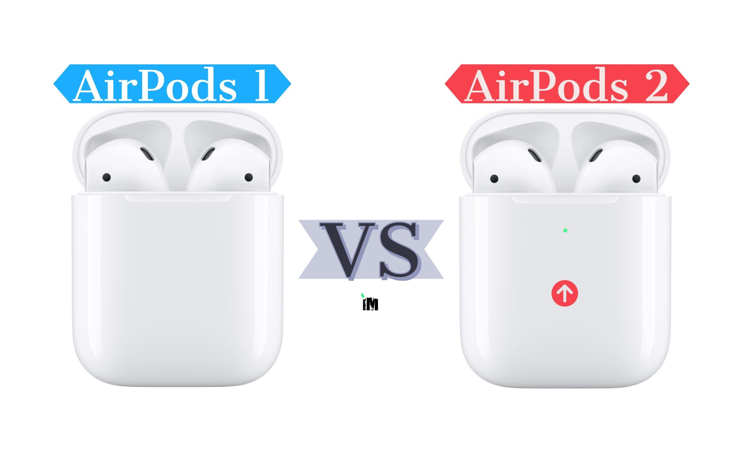difference between 1st and 2nd generation airpods