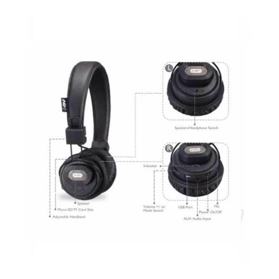 Capture1 NIA X5SP Headset Wireless Bluetooth Headphone Speaker