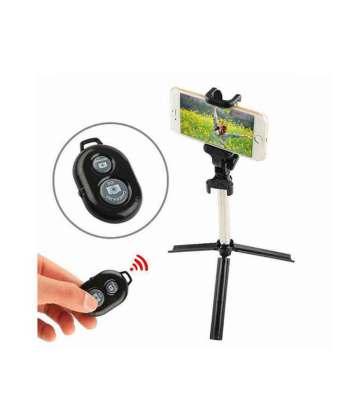 selfie stick tripod with bluetooth remote