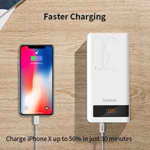 romoss power bank 30000mah charging time