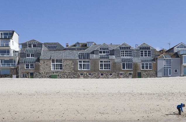 Porthmeor Artists' Studios and Fishermens' Cellars