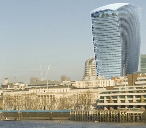 Walkie Talkie in London