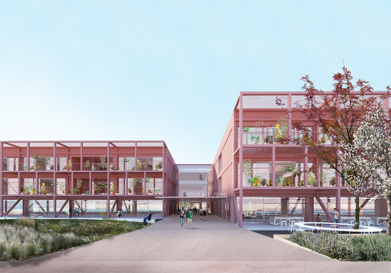 BDRbureau_Scuola Fermi_School refurbishment_color