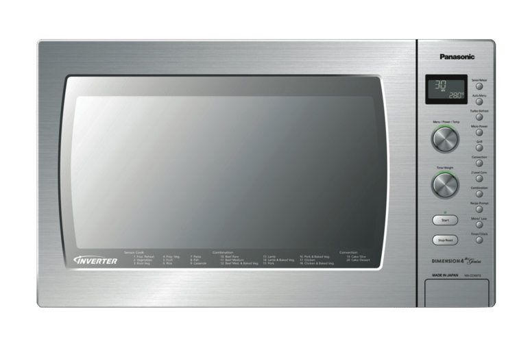 panasonic stainless steel convection microwave nd cd997s