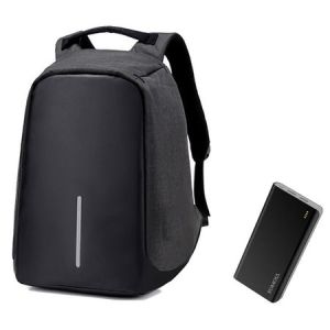 Set rucsac 15.6″, USB extern & Baterie Polymos 20k