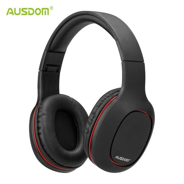Casti audio BT 4.2 Ausdom M09 Black