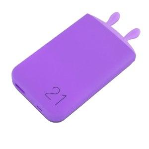 Baterie Externa Lovely Elf violet, 6000 mAh
