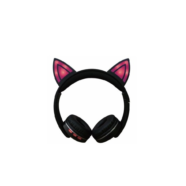 Casti bluetooth cat rosu