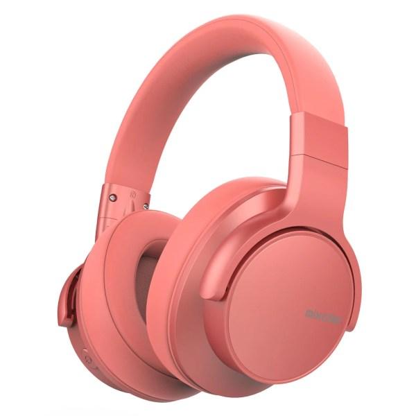 Casti audio BT 5.0 Mixcder E7 Upgraded Pink