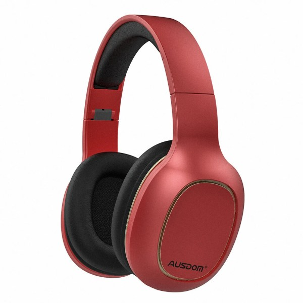 Casti audio BT 5.0 Ausdom M09 Red