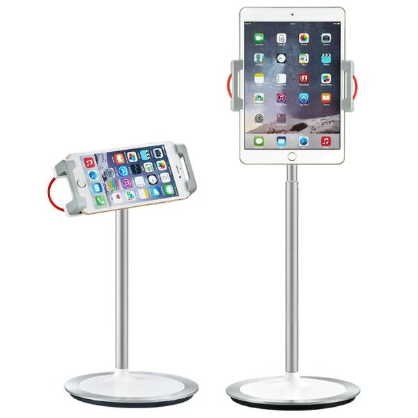 """Suport de birou pentru telefon/tableta 4.7""""-12.9"""", rotire 360, inaltime reglabila"""