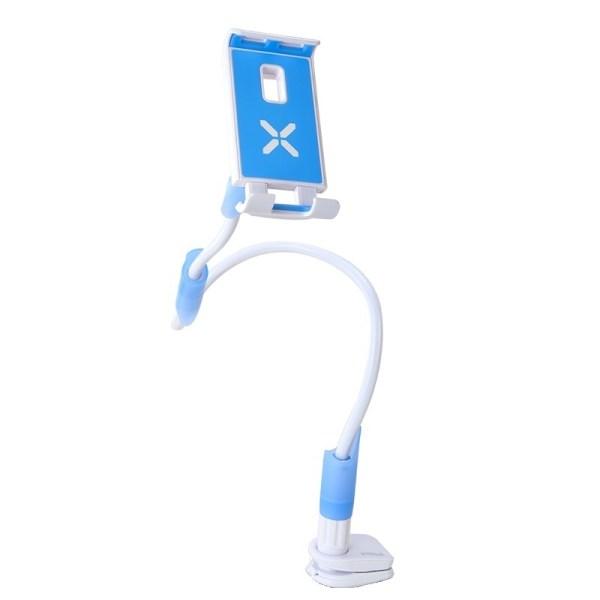 """Suport flexibil pentru telefon/tableta intre 4""""-10.6"""", rotire 360, lungime 1m"""