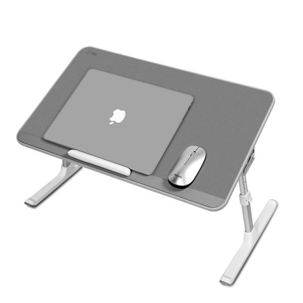 Masuta laptop multifunctionala MyTable 60x33x0.9 cm, Gri