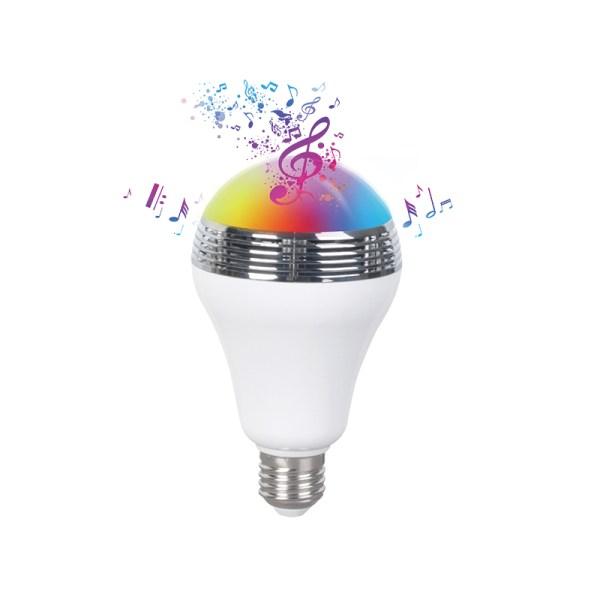 Bec inteligent LED Bulb BL05, conectare bluetooth si difuzor incorporat